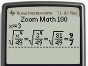 With Zoom Math 100 (Registered)