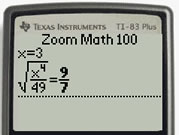 With Zoom Math 100 (Unregistered)